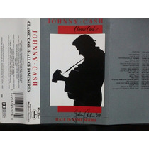 Johnny Cash: Classic Cash. Cassette Usado 1ra Ed 1988 Usa