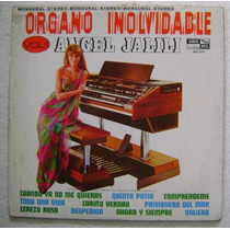 Angel Jalili / Organo Inolvidable 1 Disco Lp Vinilo