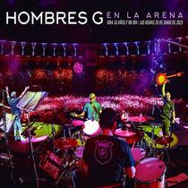 En La Arena / Hombres G / 2 Discos Cd Con 28 Canciones + Dvd