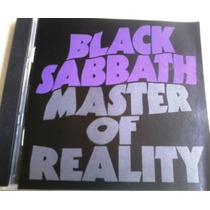 Black Sabbath - Master Of Reality 1era Ed. En Cd Heavy Metal
