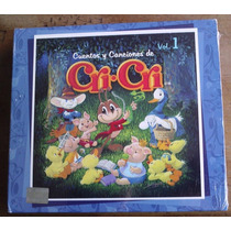 Cri Cri Cuentos Y Canciones Boxset Volumen 1. 3 Cds Fn4