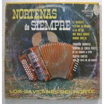 Los Gavilanes Del Norte / Norteñas... 1 Disco Lp Vinilo