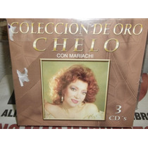 Chelo Con Mariachi Coleccion De Oro 3cds Sellado