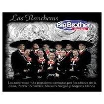 Las Rancheras De Big Brother Mexico Cd Seminuevo Original