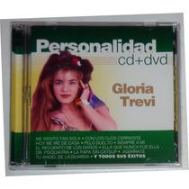 Cd Gloria Trevi Personalidad Cd + Dvd