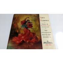Ep Cante Flamenco - Porrina De Badajoz (importado De España)