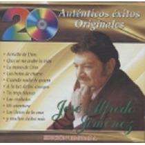 20 Auténticos Éxitos José Alfredo Jiménez