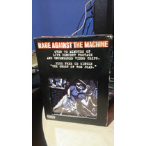 Rage Against The Machine - Live Box Set Cd Rock Vhs