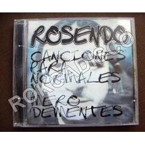 Cd, Rosendo, Canciones Para Normales Y Mero Dementes