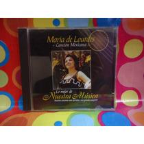 Maria De Lourdes Cd Lo Mejor De Nuestra Musica 2001