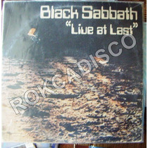 Heavy Metal, Black Sabbath, Live At Last, Lp 12´, U.s.a.