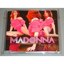 Madonna Cd Single Hung Up Australia Nuevo Britney Gaga Hm4
