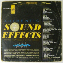 Efectos De Sonido / Sound Effects. Vol 5 1 Disco Lp Vinil