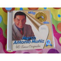 Marco Antonio Muñiz Cd 40 Temas Originales.2000. 2cds