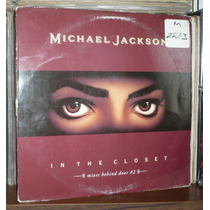 Michael Jackson Lp Single In The Closet Usa