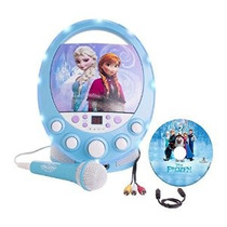 Frozen Disco Party Disney Cd + G Karaoke Con Luz