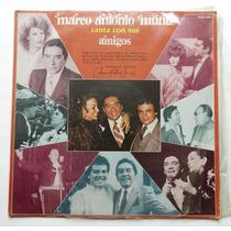 Vintage Disco Lp Marco Antonio Muñiz Acetato De Coleccion