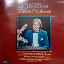 Cd Richard Clayderman - 15 Grandes Exitos