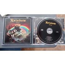 Cd Rainbow Rising Autografiado Por Dio Leer Características