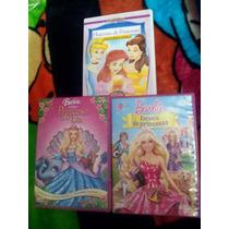 Dvd Barbie Y Princesas