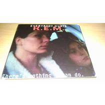 R.e.m., Everybody Hurts, Cd Single Importado, Del Año 1993