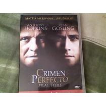 Pelicula Dvd El Crimen Perfecto, Anthony Hopkins
