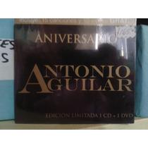 Aniversario Antonio Aguilar Edicion Limitada Cd Y Dvd