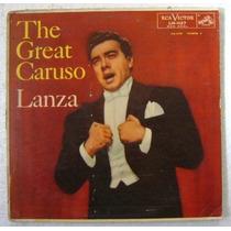 The Great Caruso / Mario Lanza 1 Disco Lp Vinilo