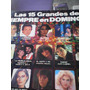Disco De Acetato Los 15 Grandes De Siempre El Domingo