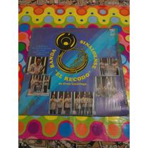 Banda Sinaloense El Recodo Lp De Cruz Lizarraga 1981.