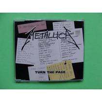 Metallica - Turn The Page - (cd-single, 1997, Alemania)