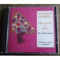 Coro Nacional De Mexico Villancicos Navideños Cd Raro 1993