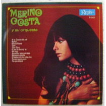 Merino Costa Y Su Orquesta 1 Disco Lp Vinilo