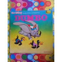 Walt Disney Lp Cuento Y Canciones De Dumbo.