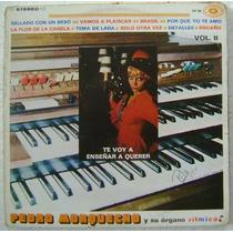Pedro Morquecho / Y Su Organo Ritmico 1 Disco Lp Vinilo