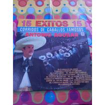 Antonio Aguilar Lp Corridos De Caballos Famosos 1984