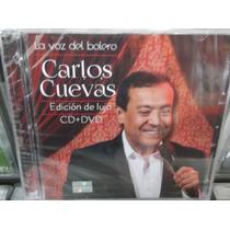 Carlos Cuevas La Voz Del Bolero Cd-dvd Nuevo Sellado