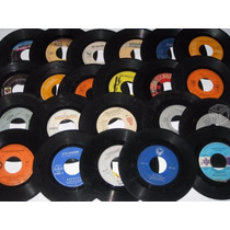 Discos Acetatos Viniles De 7 Chicos Para Decoracion
