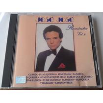 Jose Jose Romantico Vol 2 Cd 1a Ed 1988 Bvf