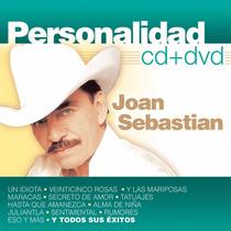 Personalidad / Joan Sebastian / Disco Cd + Dvd