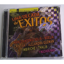 Decada De Exitos Pop Cd/dvd Thalia Laura Flores Anahi Lucero
