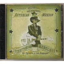 Un Tributo A Los Rebeldes ( Compilado Rockabilly ) Cd Rock