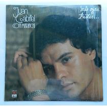 Disco Lp Juan Gabriel Con Mariachi Acetato De Coleccion!!!