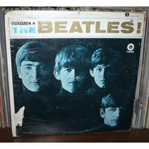The Beatles Lp Conozca A Los... Sello Crema