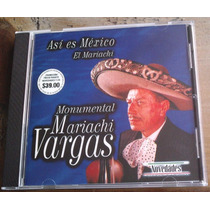 Mariachi Vargas Cd Especial Novedades Unica Ed 2000 Vmj