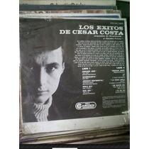 Cesar Costa,corazon Loco,los Exitos De,nuevo Acetato Rca