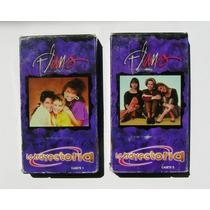 Flans La Trayectoria 1 Y 2 Casettes Vhs Mexicanos 1999
