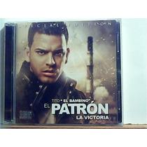 Cd & Dvd - Tito El Bambino- El Patron La Victoria