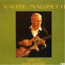 Malosetti Walter Tributo A Django Reinhardt Cd Nuevo