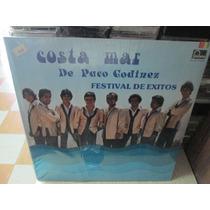Lp Paco Godinez Y Su Costa Mar Exitos Disco Lp Nuevo ---